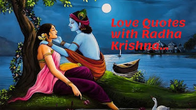 Love Quotes with Radha Krishna HD Images in Pinterest