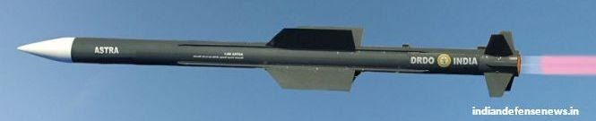 India To Start Trials of 160 Km Strike Range Astra MK-2 Missile This Year