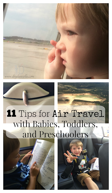 11 Tips for Air Travel with Babies, Toddlers, and Preschoolers