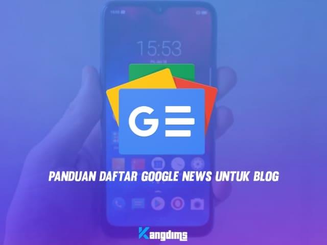 daftar Google news untuk blog