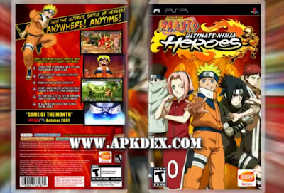Naruto Ultimate Ninja Heroes iso cso PSP