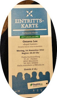 Lesung von Geneva Lee in Mannheim