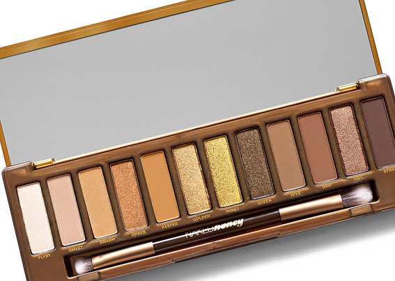 Palette fards paupières Naked Honey Urban Decay Avis Revue