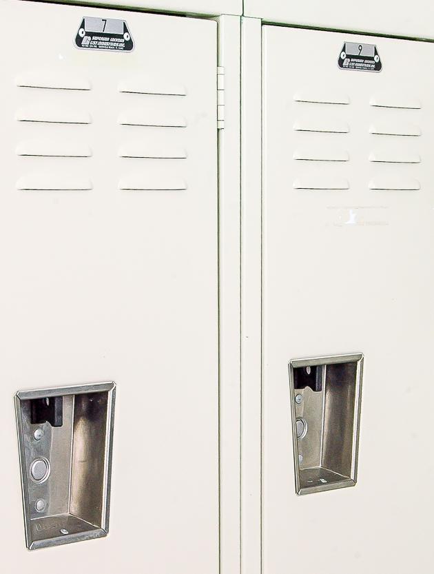 lockers, vintage, office