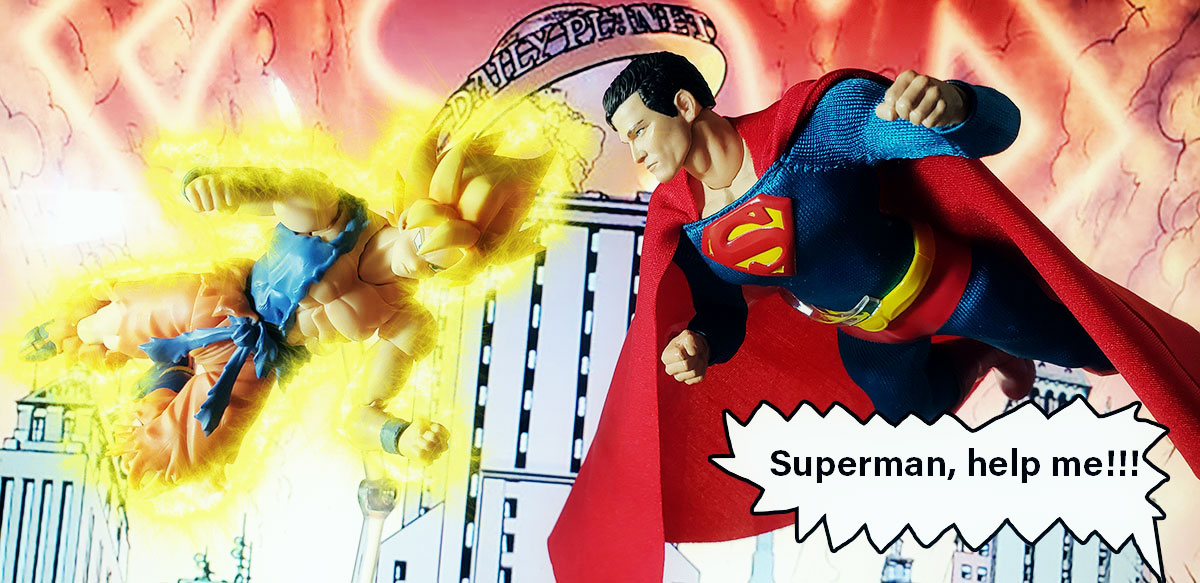 superman - Mezco Classic Superman (Review) 08-story1