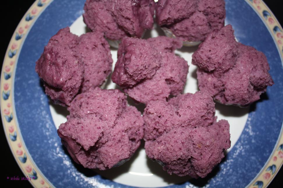 Resep Cake Kukus Ubi Ungu: Cerita Mama: Kue Mangkuk Ubi Ungu