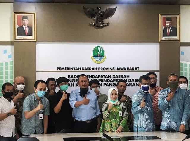 Genjot Pendapatan, bank bjb Jalin Sinergi Dengan Pemkab Pangandaran