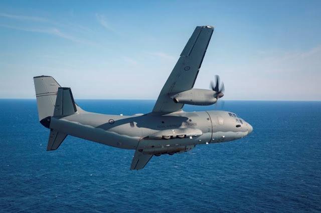 Australian C27J Spartan reconnaissance surveillance