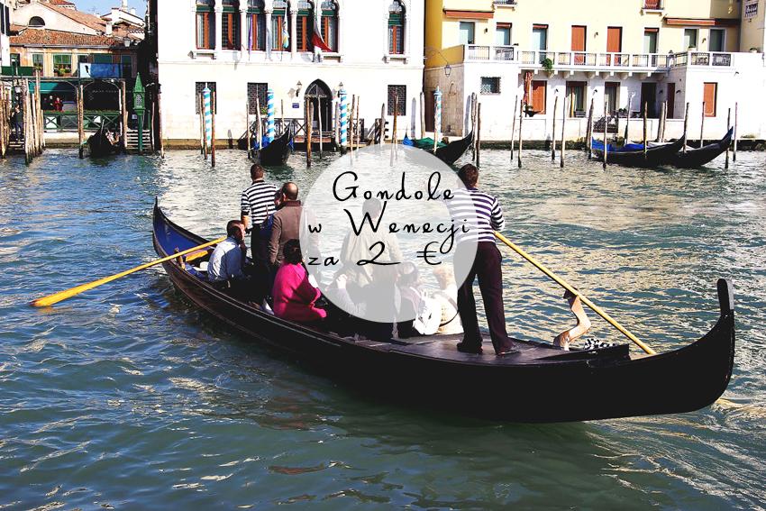 Jak przejechać się najtaniej gondolą w Wenecji?