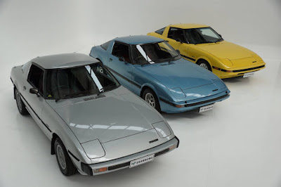 Trio of Mazda RX-7's going up for auction