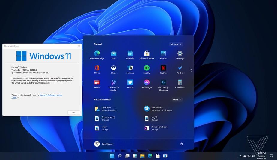 Windows 11 que terá loja de aplicativos em parceria com Amazon
