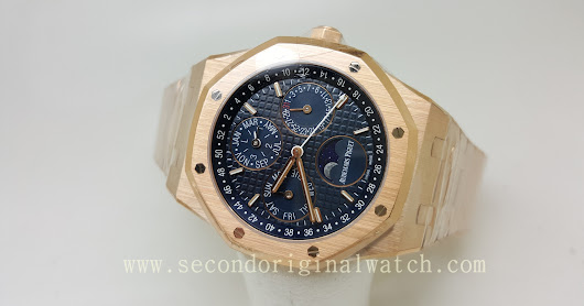 FOR SALE : AUDEMARS PIGUET RO PERPECTUAL CALENDAR MOONPHASE ROSEGOLD