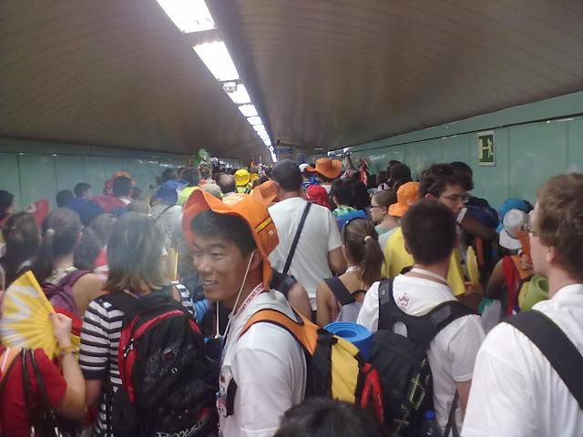 10,4 millones de viajes en Metro durante la JMJ