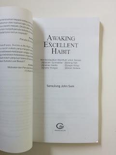 Awaking The Excellent Habit