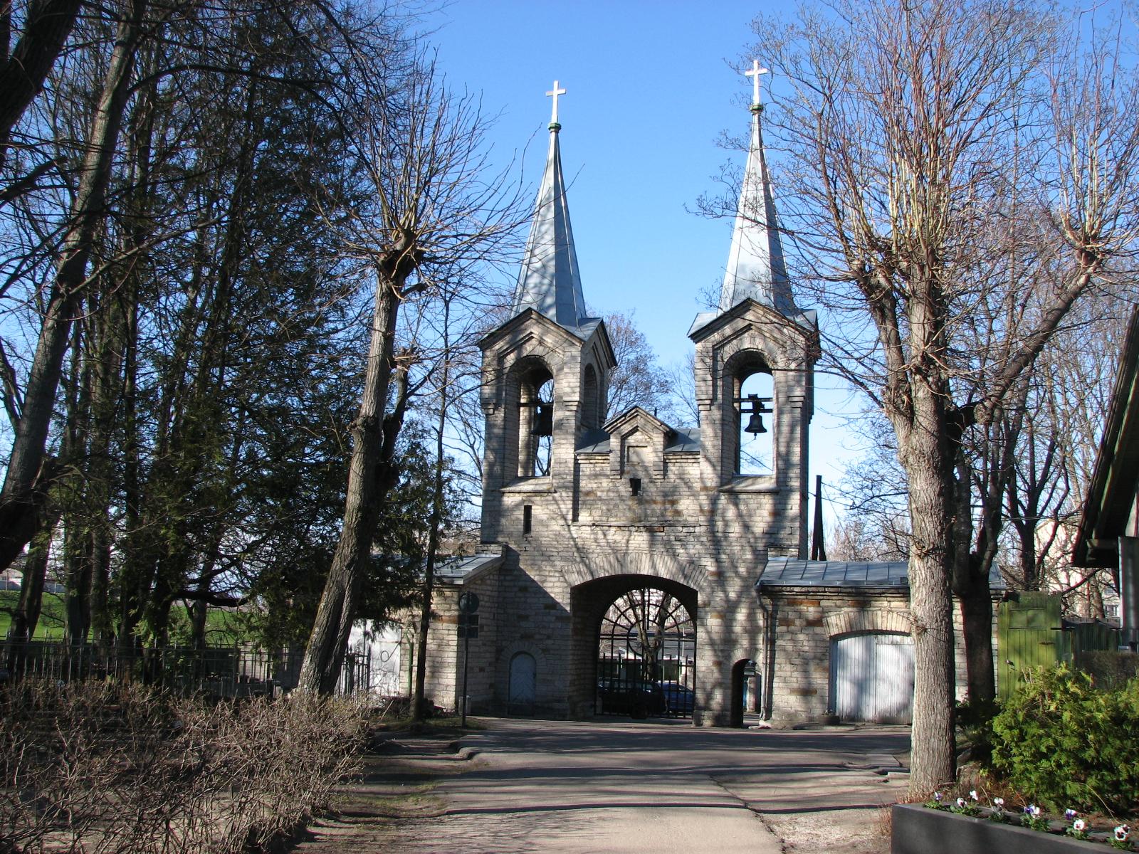Siselinna Cemetery (Tallinn, Estonia)