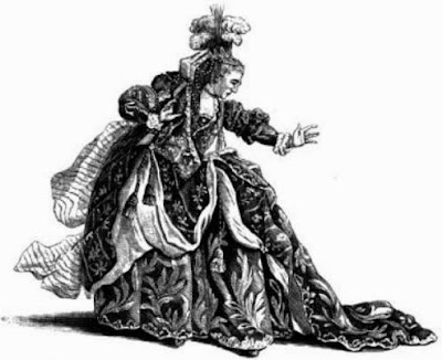 Marie Dumesnil as Athalie by Arthur Pougin, 1885