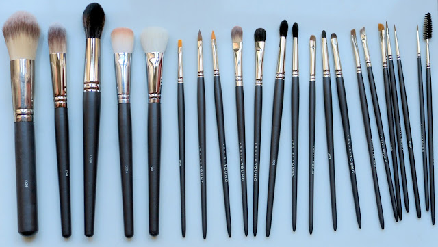 louise young make-up brushes