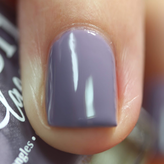 BLUSH Lacquers Hazy swatch by Streets Ahead Style