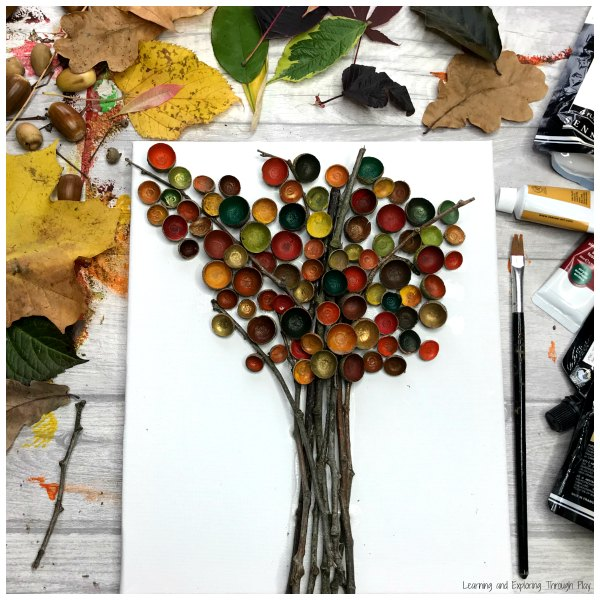 Fairy Hat Autumn Tree Craft