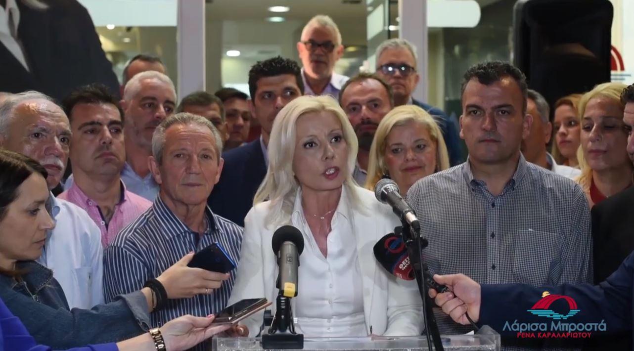 """Ρένα Καραλαριώτου: """"Εμείς δεν είμαστε σαν τον κ. Καλογιάννη"""" (VIDEO)"""
