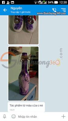 Khách mua sơn acrylic 3D ở Cần Thơ