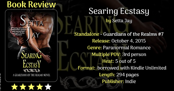 Searing Ecstasy by Setta Jay