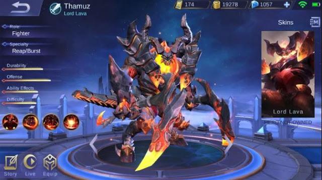 Cara Menggunakan Hero Thamuz Mobile Legend