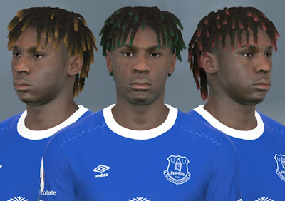 PES 2017 Faces Moise Kean by WER Facemaker