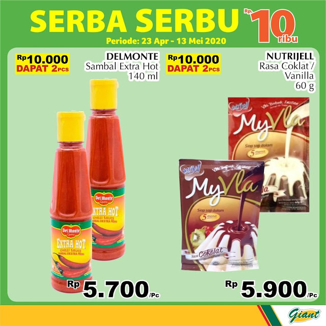 #Giant - #Katalog Promo Serba Serbu 10Ribu ( 23 April - 13 Mei 2020)