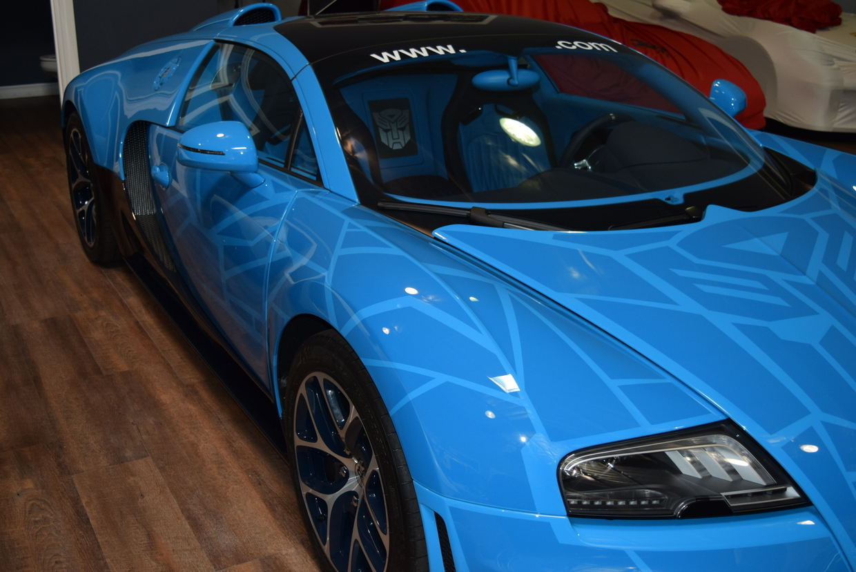 Bugatti veyron grand sport vitesse transformers - photo#4