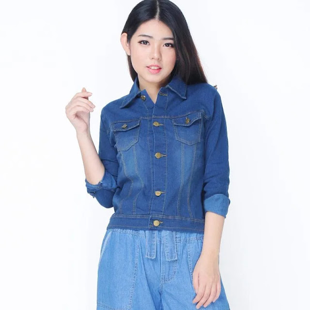 Jfashion Raline Jeans Washed Tangan Panjang