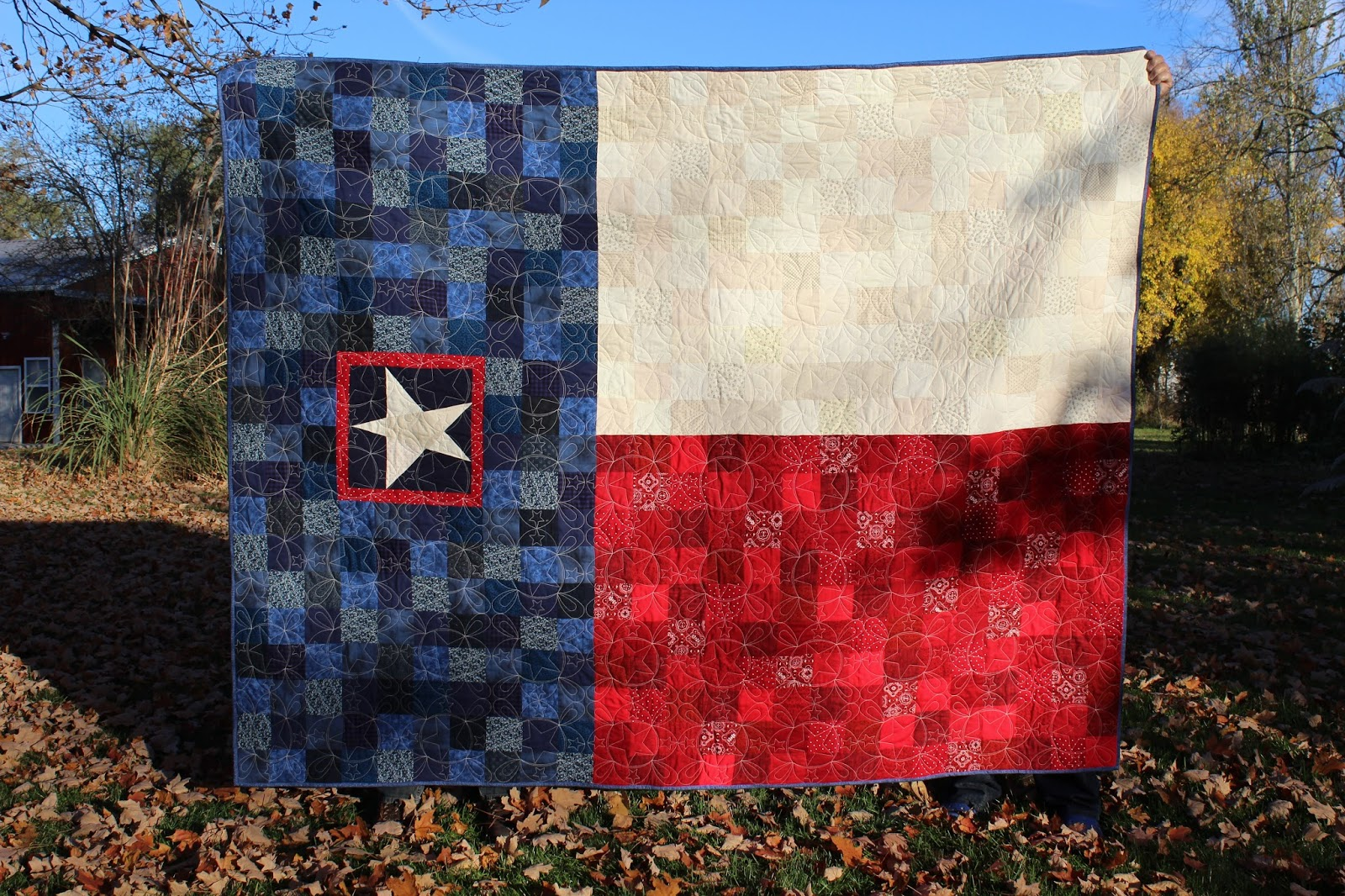 Ohio Thoughts~: Texas State Flag Quilt : texas flag quilt - Adamdwight.com