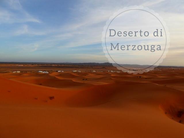 Escursione al deserto di Merzouga in Marocco