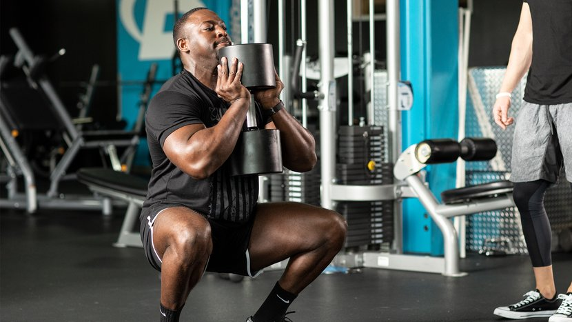Don't Diss The Goblet Squat Until You've Survived This Workout