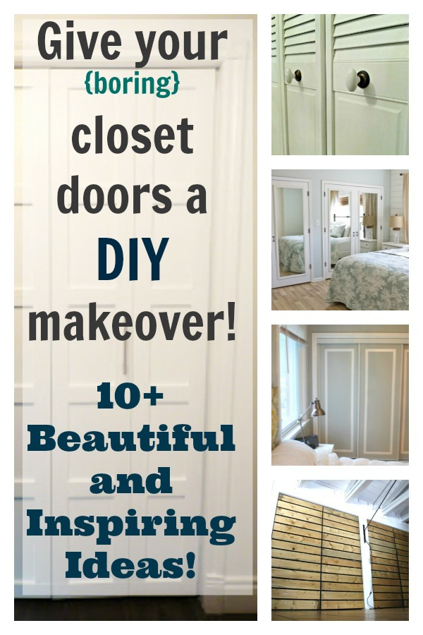 Diy Closet Doors 10 Beautiful And Inspiring Ideas