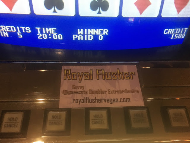 Official Royal Flusher Savvy Gambler Business Card 2.0