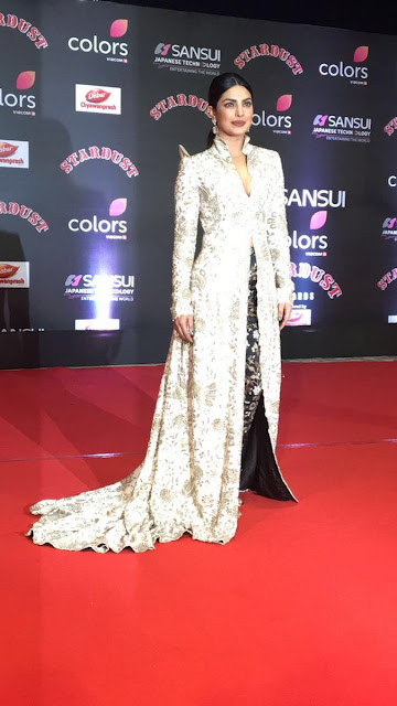 Priyanka Chopra at Stardust awards 2016