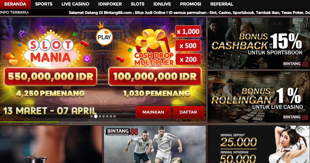 Daftar Situs Judi Slot Online Terpercaya Deposit Pulsa