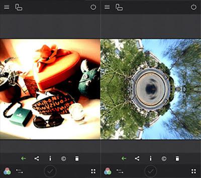Aplikasi Kamera Fisheye