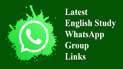 Latest English Study WhatsApp Group Links