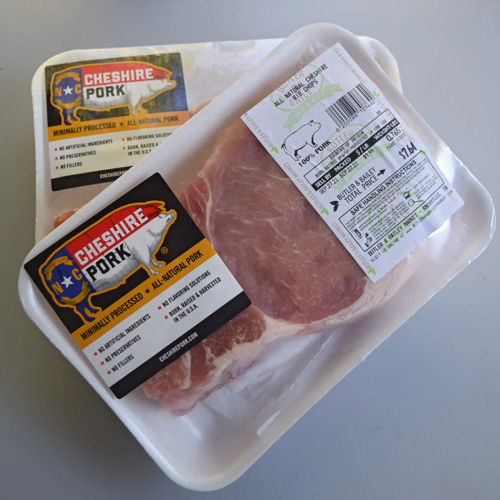 I've had good success with Cheshire Pork, so when I see their logo, I trust that I'm getting good pork.