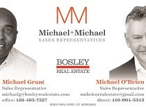 MICHAEL O'BRIEN & MICHAEL GRANT, BOSLEY REAL ESTATE.