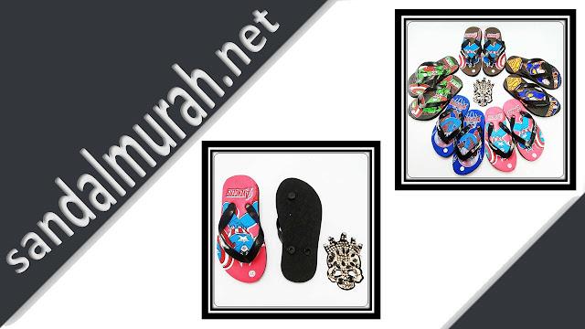 Sandal AMX Karakter Simplek Anak | Terlaris Langsung Dari Pabrik