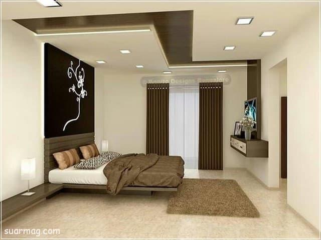اسقف جبس بورد حديثة غرف نوم 12   Bedrooms Modern Gypsum Ceiling 12