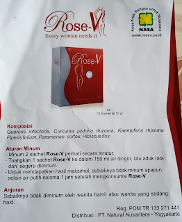 JUAL ROSE-V NASA