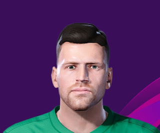 PES 2020 Faces Aleksandr Gutor by Korneev