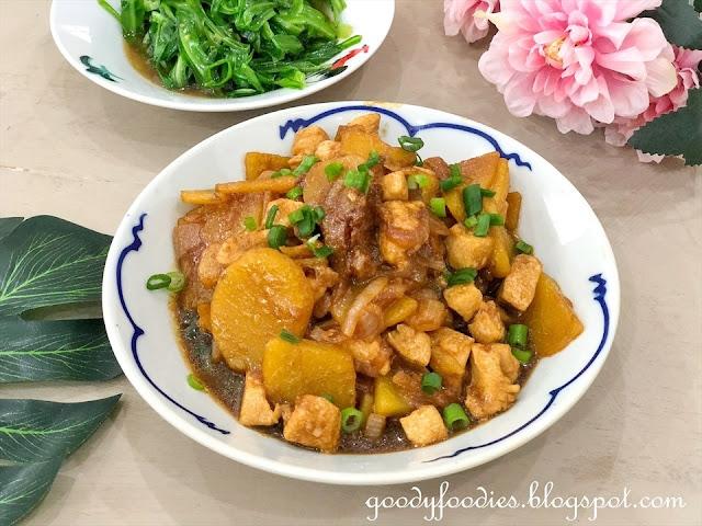Chicken and potato stew recipe