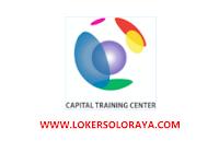 Loker Maret 2021 di Capital Training Center Solo