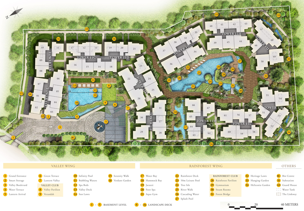DainTree Residences - Site Plan
