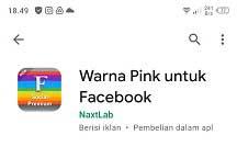 Cara Membuat Facebook Pink